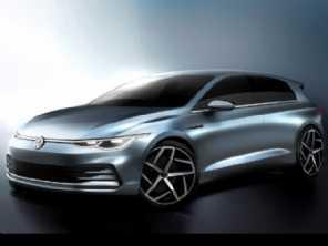VW divulga os primeiros detalhes da oitava geração do Golf