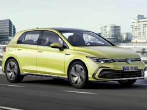 Mais conectado, digital e eficiente: oitava geração do VW Golf é revelada