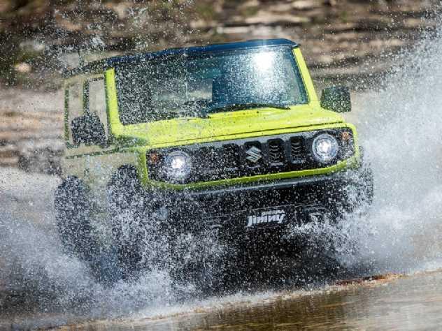 Suzuki Jimny 4 portas pode estrear com motor mais potente