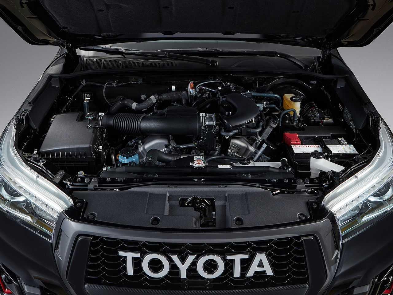 ToyotaHilux 2020 - motor