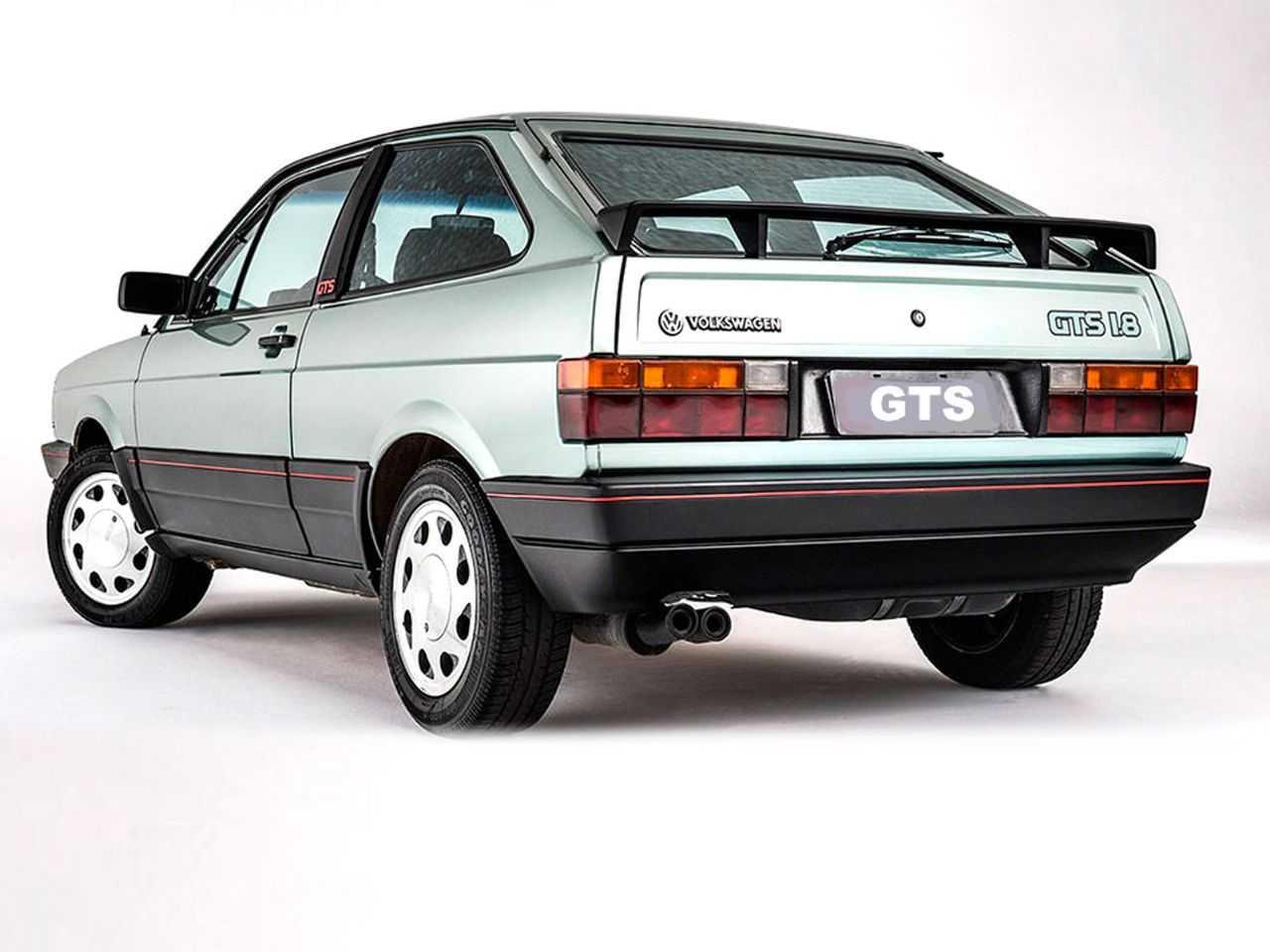 VolkswagenGol 1987 - ângulo traseiro