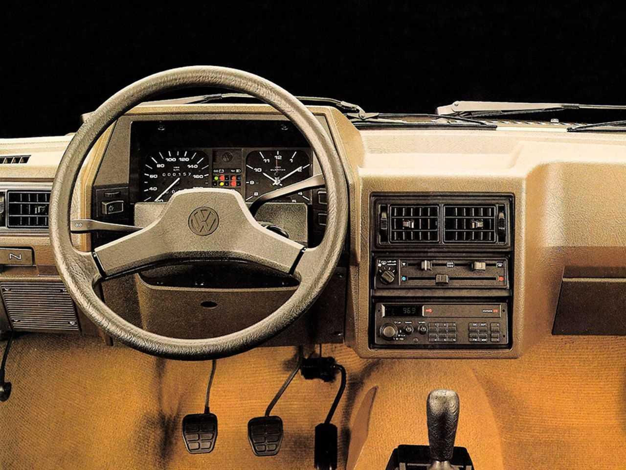 VolkswagenGol 1987 - painel