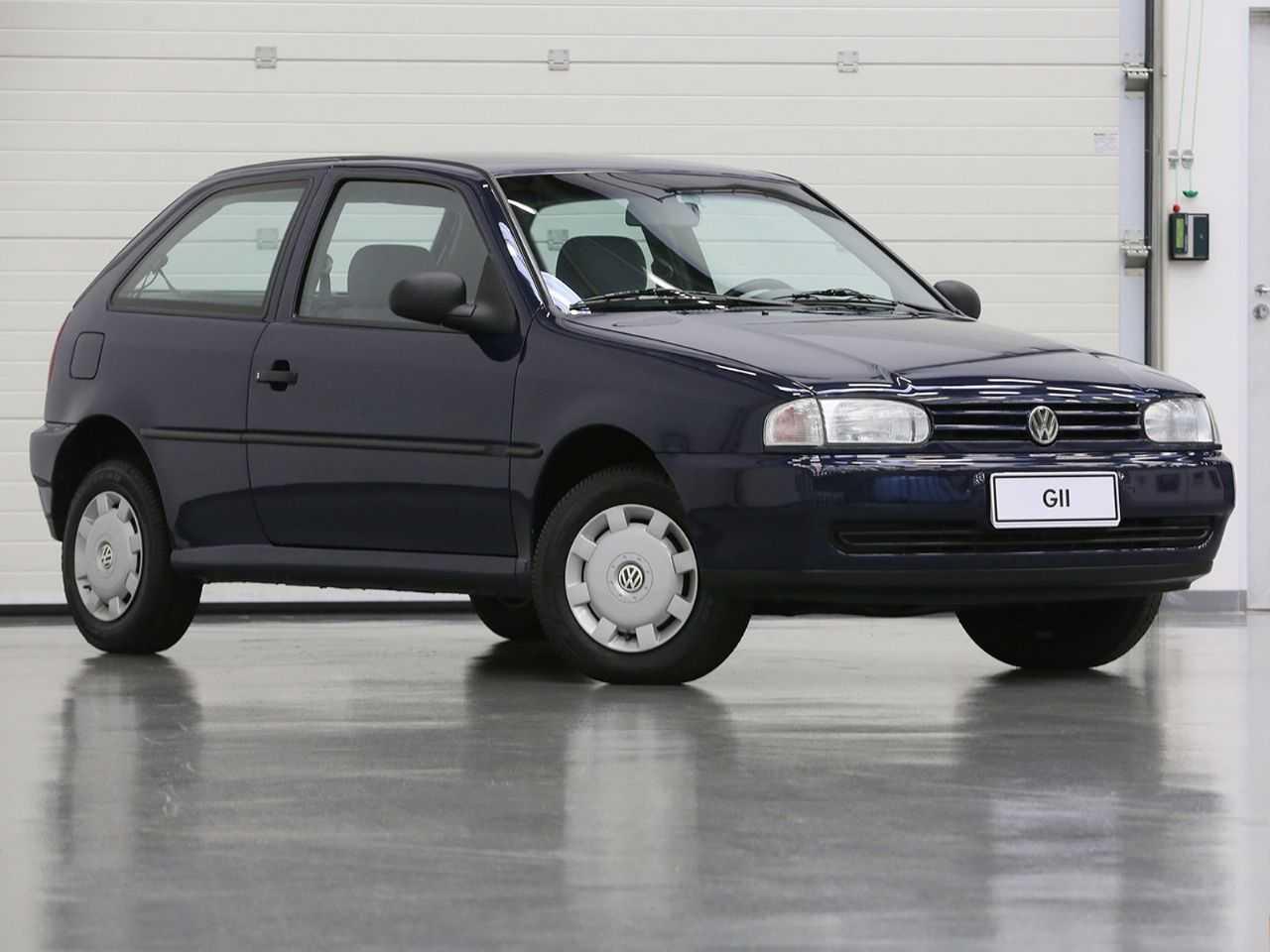 VolkswagenGol 1995 - ângulo frontal
