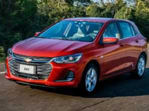 Chevrolet confirma consumo e medidas do novo Onix hatch