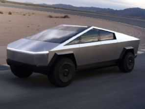 Tesla apresenta sua futurista picape para 2021