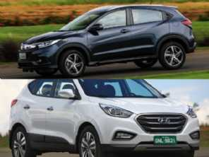 Um Hyundai ix35 ou um Honda HR-V?