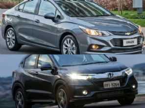 Compra com isenção de IPI: Honda HR-V ou um Chevrolet Cruze LT?