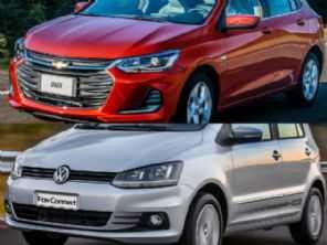 Comprar um novo Chevrolet Onix ou um veterano VW Fox?