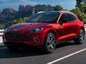 Aston Martin revela seu primeiro SUV: o DBX