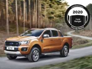 Ford Ranger é eleita a picape internacional do ano