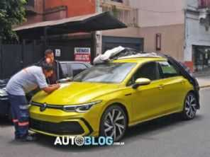 Volkswagen Golf 8 já está na Argentina