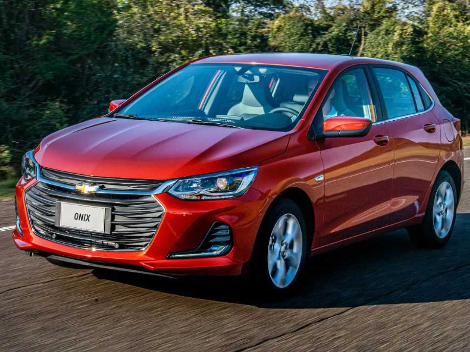 ChevroletOnix 2020 - ângulo frontal