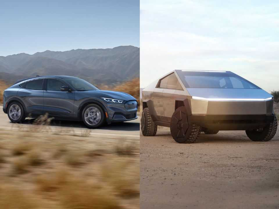 O Mustang Mach-E e a picape Cybertruck: Ford e Tesla talvez tenham passado dos limites
