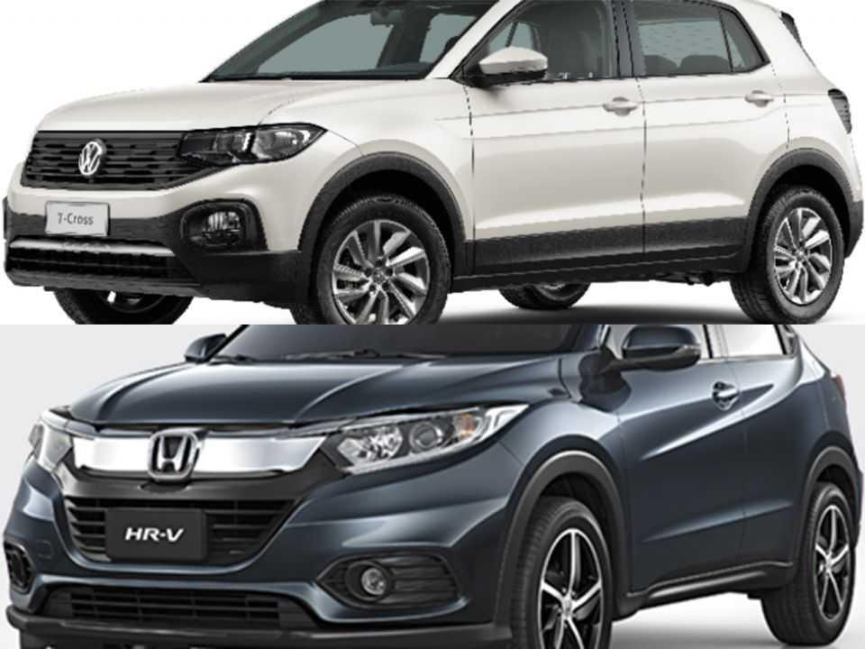 Volkswagen T-Cross e Honda HR-V
