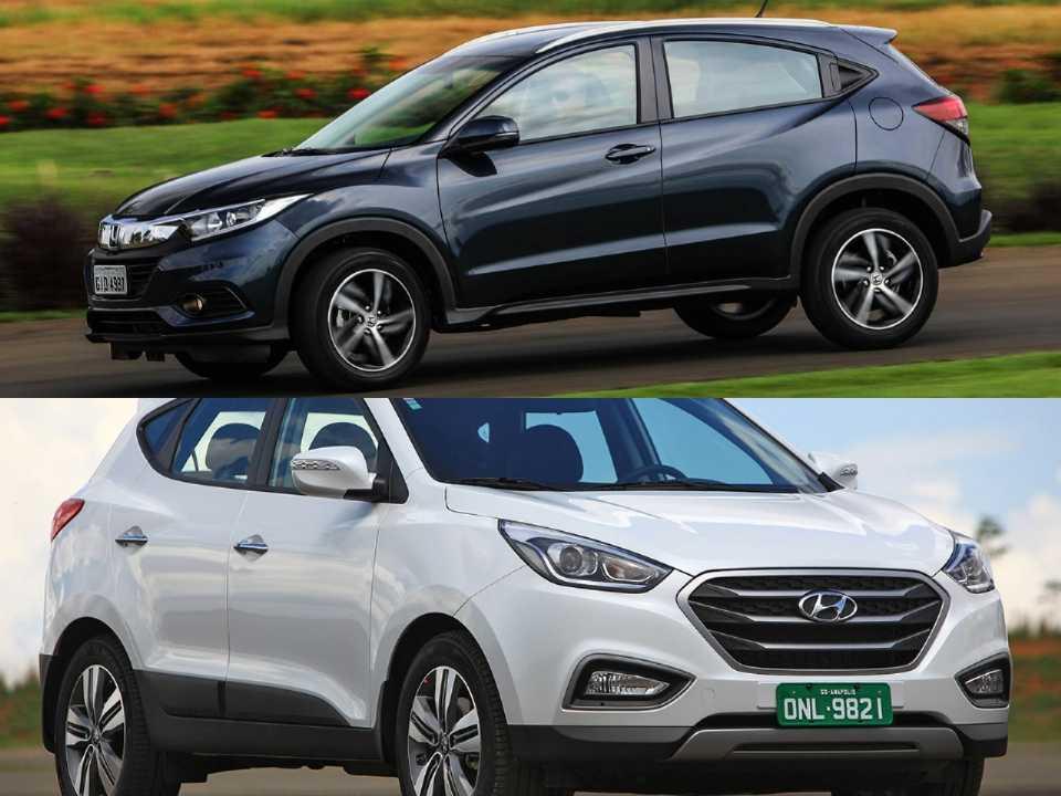 Honda HR-V e Hyundai ix35
