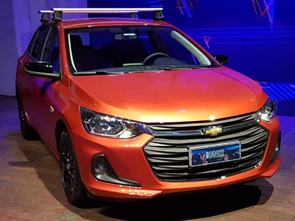Chevrolet Onix 2020 equipado com o pacote de personalização Adventure