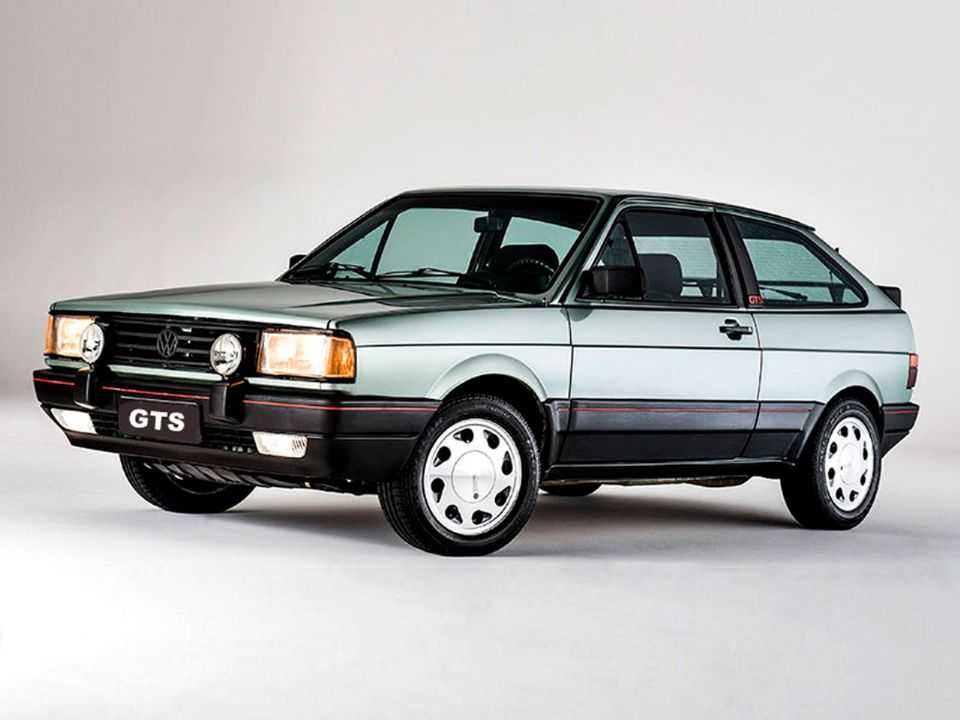 VolkswagenGol 1987 - ângulo frontal
