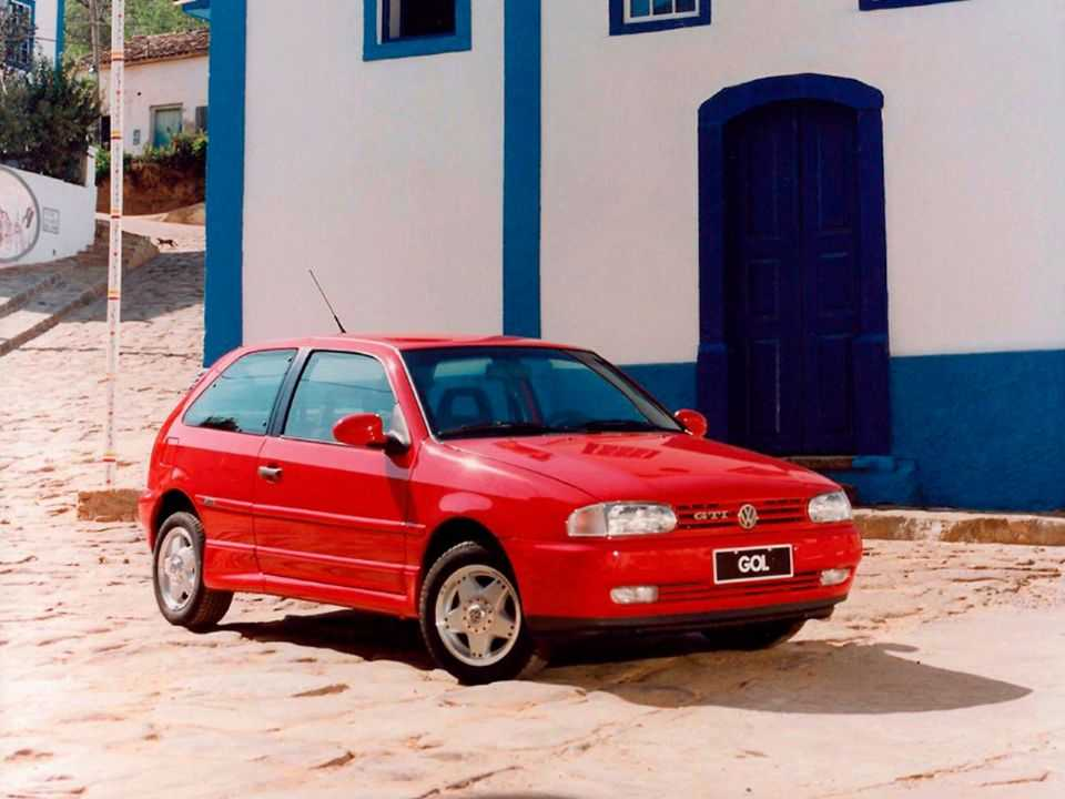 VolkswagenGol 1996 - ângulo frontal