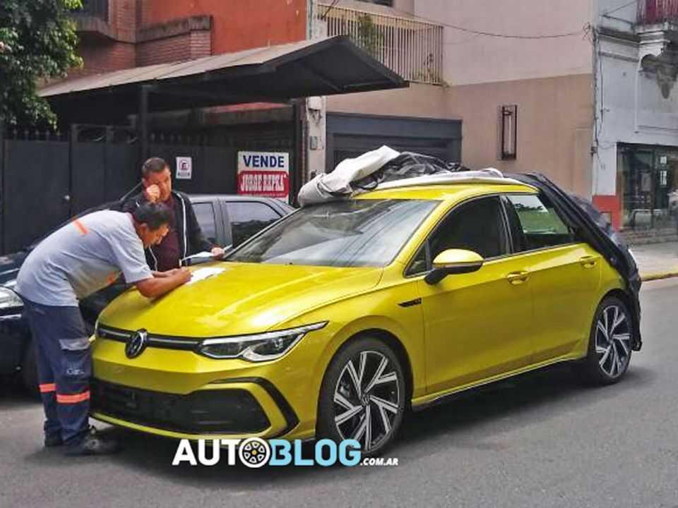 Volkswagen Golf 8: visita surpresa à Argentina um mês após sua apresentação mundial