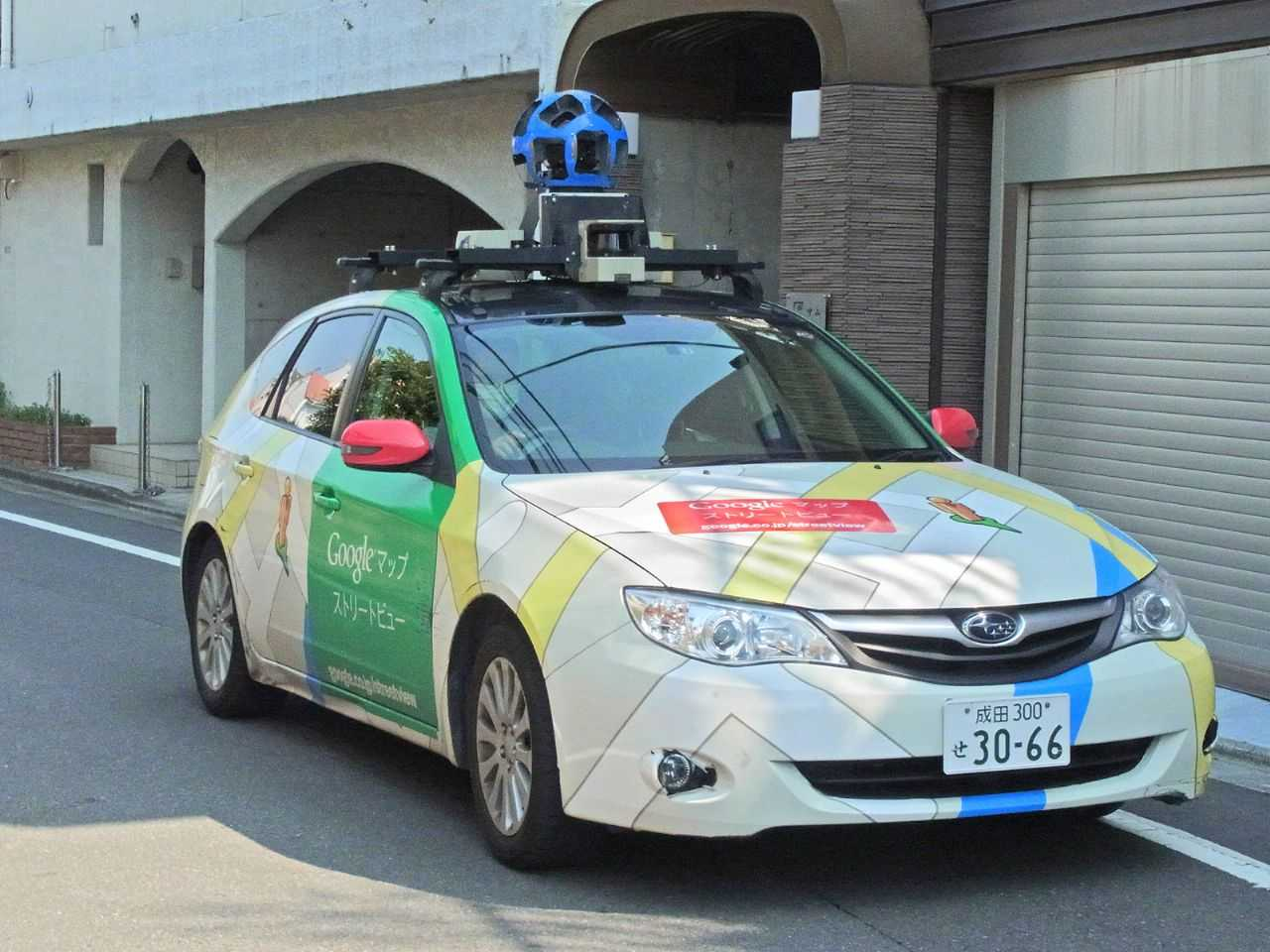 Carro utilizado no Google Street View: veículos já percorreram mais de 16 milhões de quilômetros