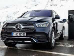 Novo Mercedes-Benz GLE Coupé terá versão híbrida