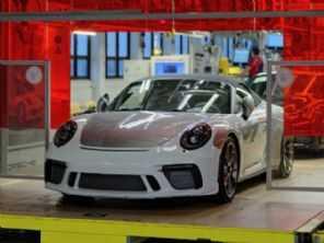 Porsche produz o último 911 da geração 991