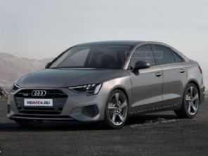 Site russo antecipa visual da próxima geração do Audi A3 Sedan