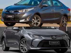 Dúvida na linha Toyota: Yaris Sedã XLS ou um Corolla GLi?