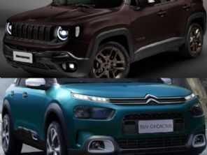 Confiabilidade, segurança, espaço e desempenho: Citroën C4 Cactus ou Jeep Renegade?