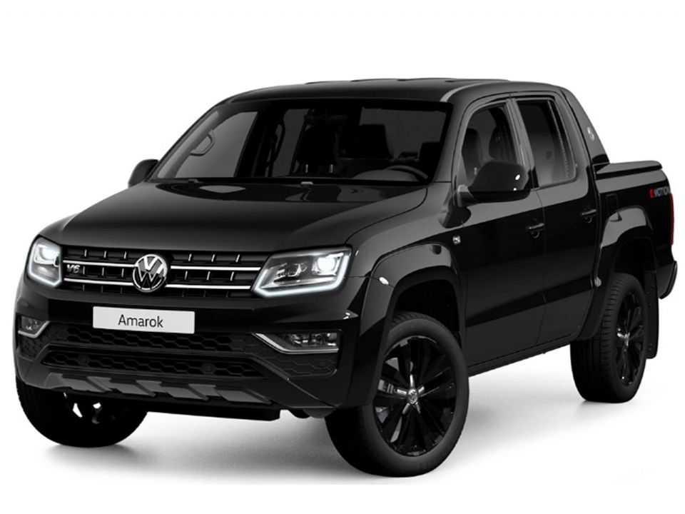 Amarok V6 Black Style: série especial marca a estreia do motor V6 diesel com maior potência
