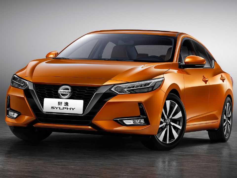 Acima o Nissan Sylphy, nome adotado pelo Sentra na China