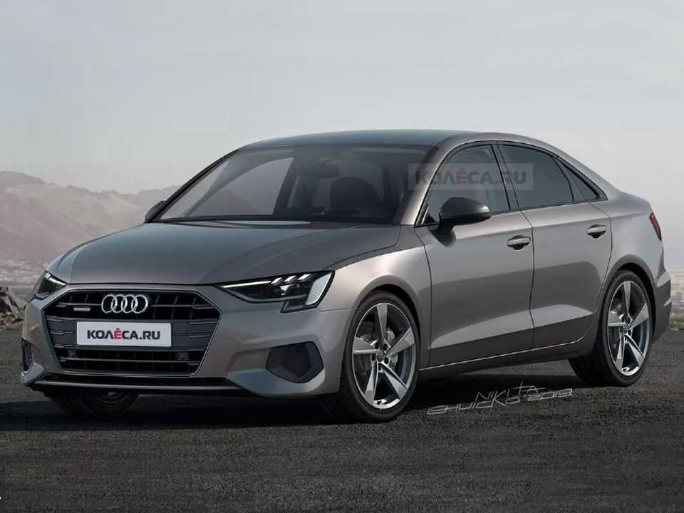 Projeção do site russo Kolesa sobre a nova geração do Audi A3 Sedan
