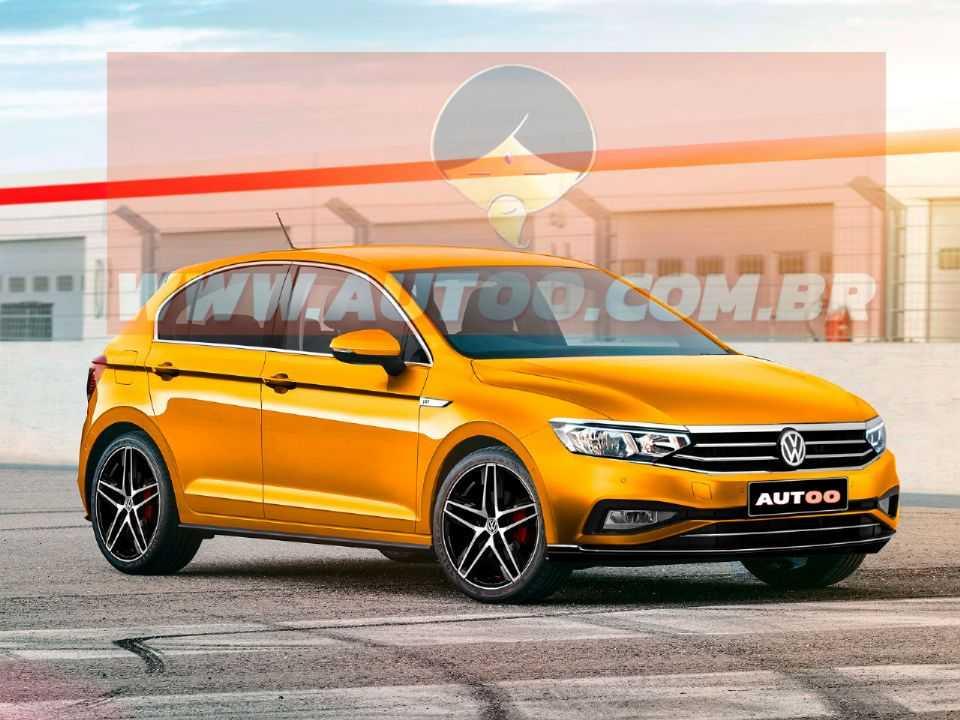 Projeção de Kleber Silva para a próxima geração do Volkswagen Gol