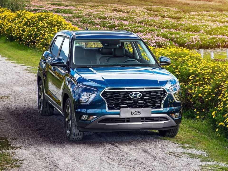 Hyundai Creta, também conhecido como ix25: visual reestilizado estreia na Índia, mas deve ter solução própria no Brasil