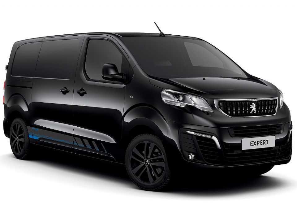 Acima o Peugeot Expert em versão esportiva criada pela divisão inglesa da marca