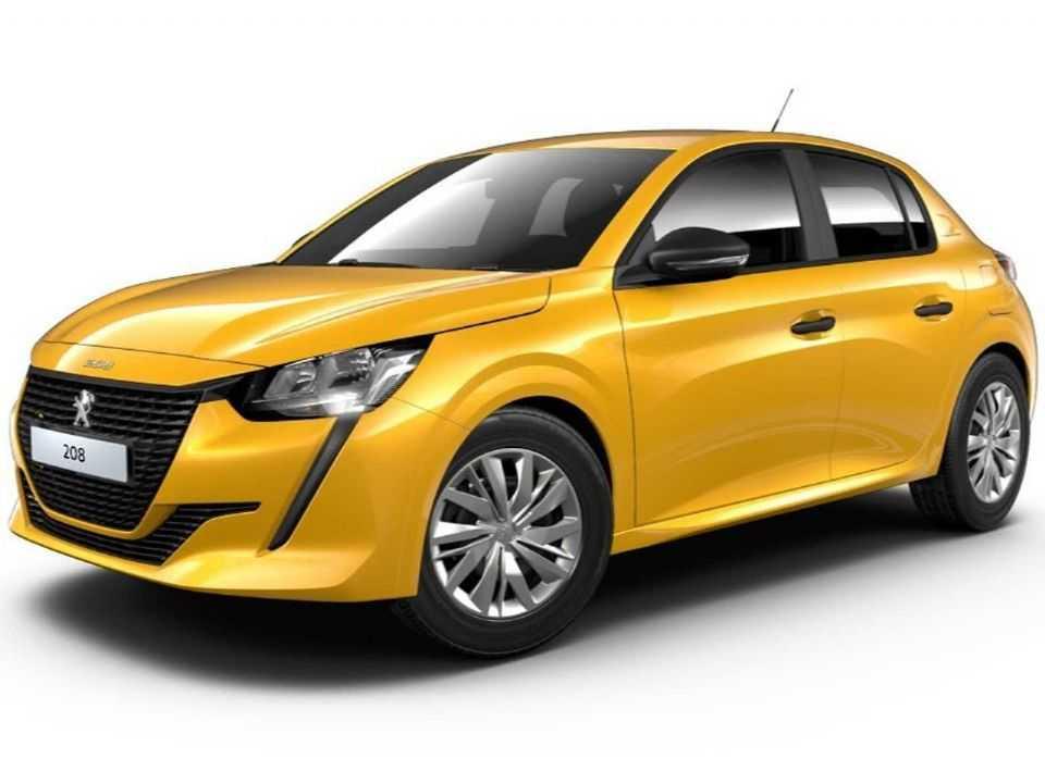 Detalhe sobre como será a versão de entrada da nova geração do Peugeot 208 no Brasil