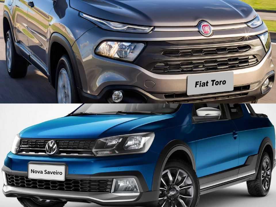 Fiat Toro e Volkswagen Saveiro