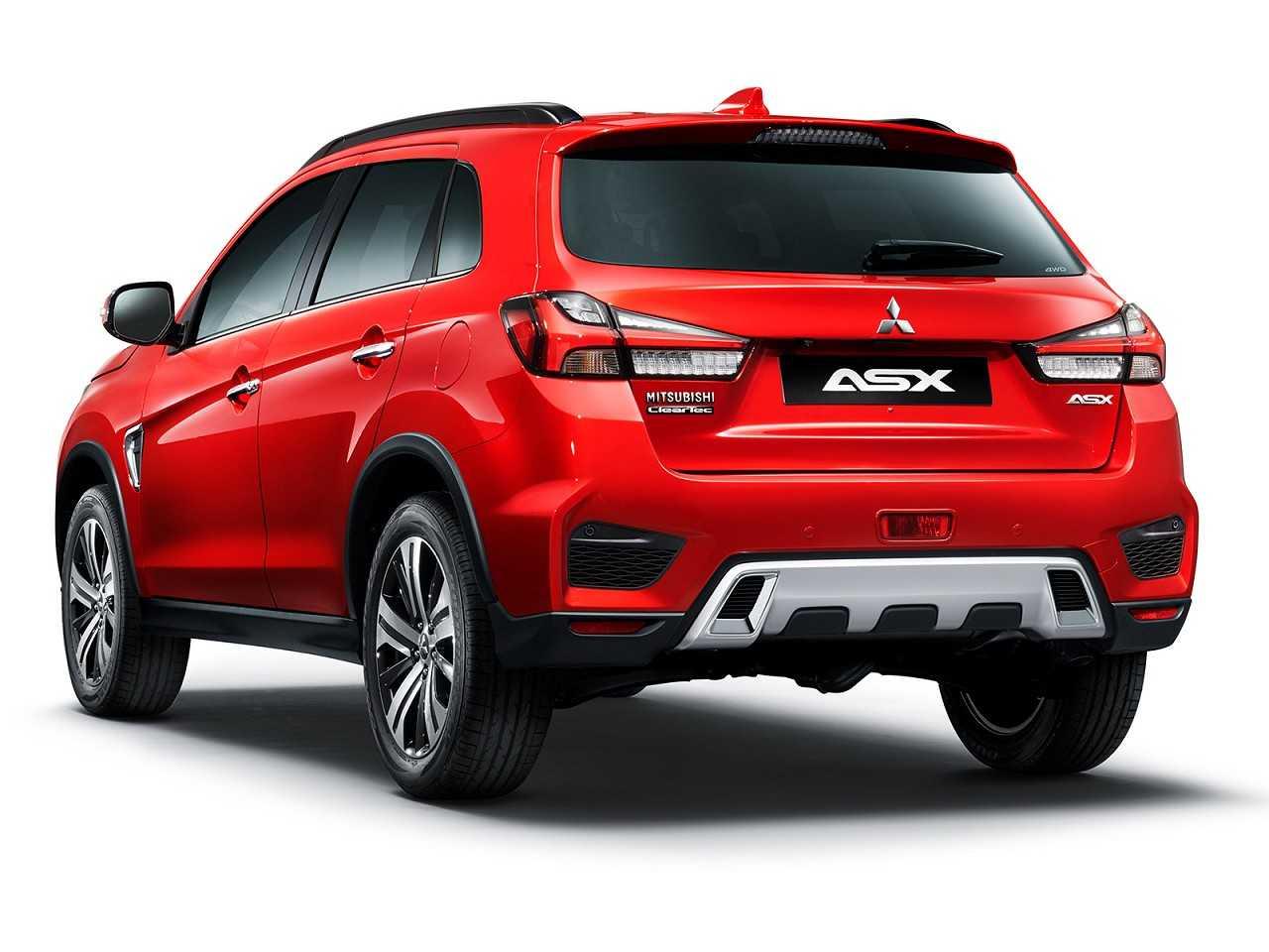 MitsubishiASX 2020 - ângulo traseiro