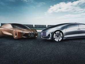 BMW e Mercedes-Benz juntas! Pelo menos para desenvolver carros autônomos...