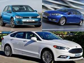 Fusion Titanium AWD 2014, Focus Titanium 2016 ou um Golf Highline 2015?