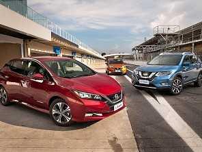 Nissan mostra sua gama de elétricos e híbridos no Brasil
