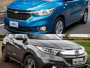 Sugestão para trocar o táxi: outro Chevrolet Spin ou um Honda HR-V?