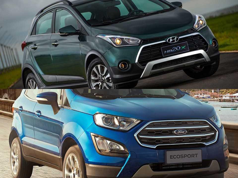 Hyundai HB20X e Ford EcoSport