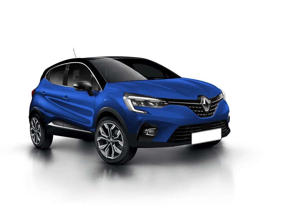 Projeção da segunda geração do Renault Captur realizada pelo designer Kleber Silva