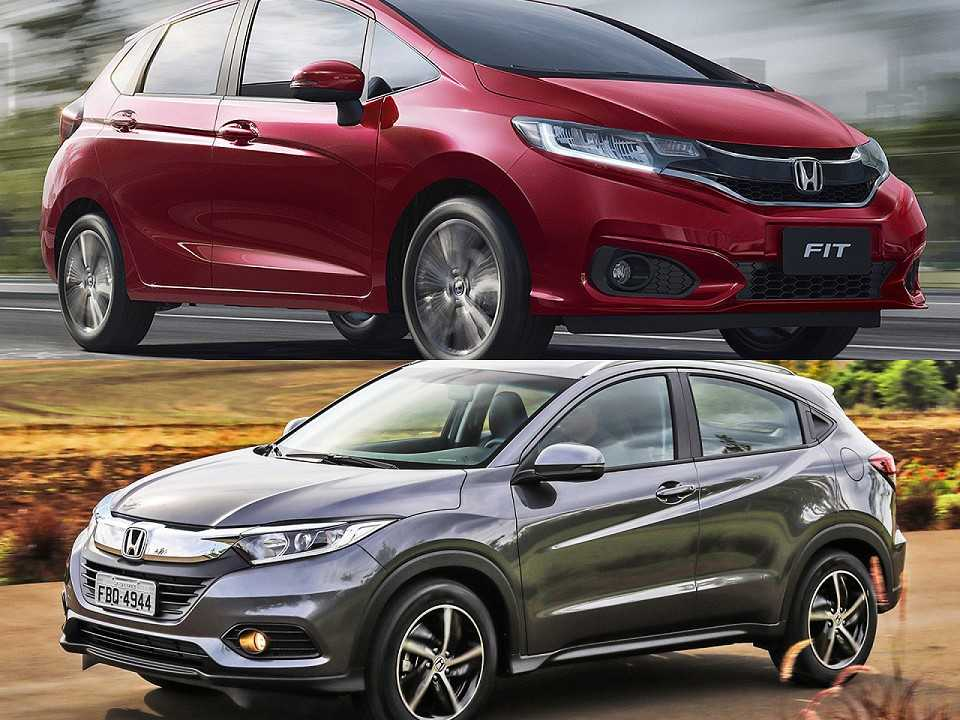 Honda Fit e Honda HR-V