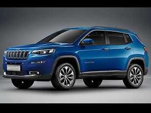 Como deverá ficar o facelift para o Jeep Compass