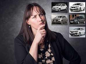 Escolha do primeiro carro: Etios, HB20, Ka, Argo ou Sandero?