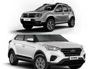 Compra PcD: na busca de um SUV, optar pelo Creta ou o Duster?