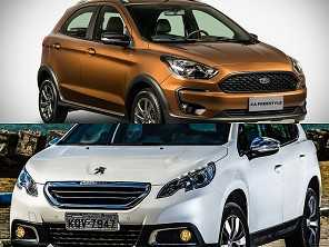 Ford Ka FreeStyle ou um Peugeot 2008 Allure, ambos automáticos?