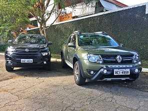 Fiat Toro ou Renault Duster Oroch: por qual delas optar?